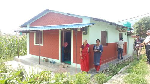 2.Building Typology: Load Bearing Brick Masonry Building Cement Mortar; Location: Madhya Nepal Municipality-5, Lamjung, Nepal