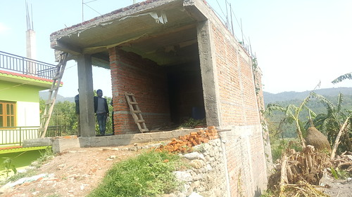16.Building Typology: Reinforced Cement Concrete Frame Structure(RCC Frame) ; Location:Rainas Municipality-05, Lamjung Nepal