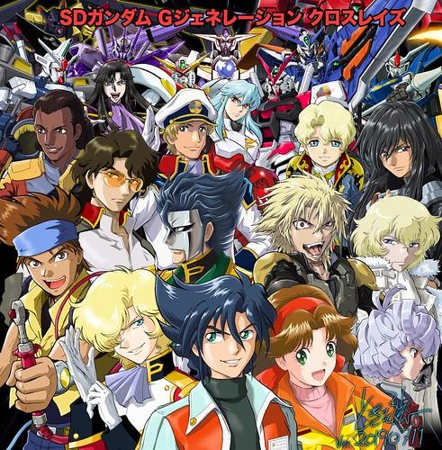 SD Gundam G Generation Cross Ray Illustration by Tokita