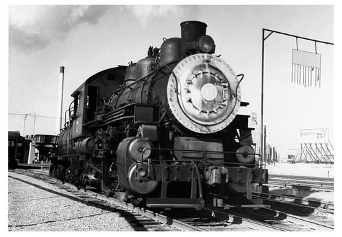 [Steam Switcher at Dallas' Union Terminal]