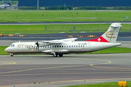 HB-ACB   Aerospatiale ATR-72-212A [662] (Etihad Regional/Darwin Airline) Amsterdam-Schiphol~PH 06/08/2014