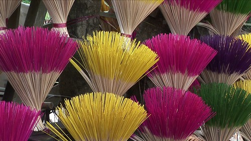 Vietnam - Hue - Incense Stick Manufactoring - 2