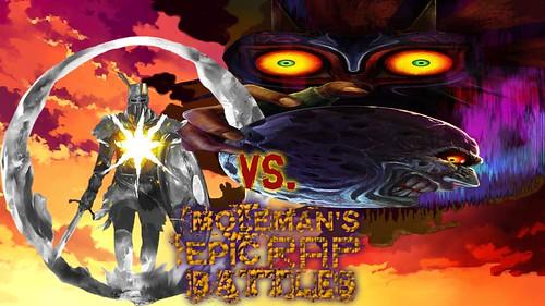 Moleman's Epic Rap Battles #46: Solaire Vs. Majora