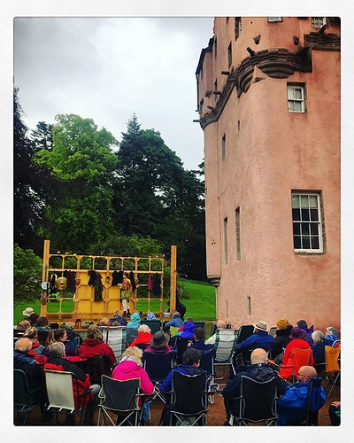 The play that must not be named... #craigievarcastle #aberdeenshire #macbeth