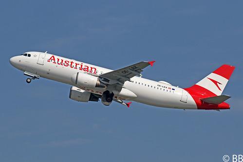 19-04-29, Austrian Airlines, Airbus A320-200, OE-LBX, Dusseldorf Airport
