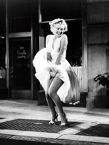 Marilyn Monroe en The Seven Year Itch, 1955  Colección Everett