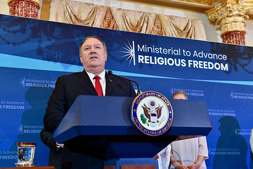 Secretary Pompeo Delivers Remarks at the 2019 International Religious Freedom Awards