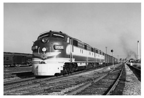 [Texas and Pacfic train in Dallas]
