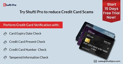 How We Reduce Credit Card Scams