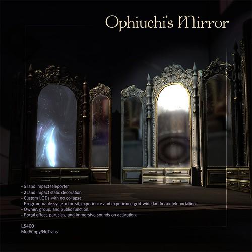 [ContraptioN] @ [S P E L L B O U N D ] : Ophiuchi's Mirror