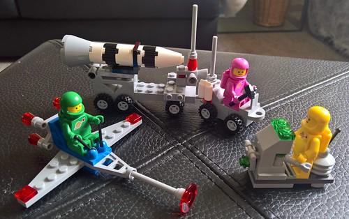 Classic Space - Proto Light Hover, Rocket Launch Trailer & Stellar Comet