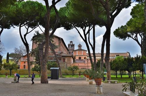 Rome -  le jardin des Orangers sur l'Aventin (Giardino degli Aranci)