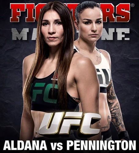 The forecast for fight Raquel Pennington - Irene aldana UFC on ESPN 4