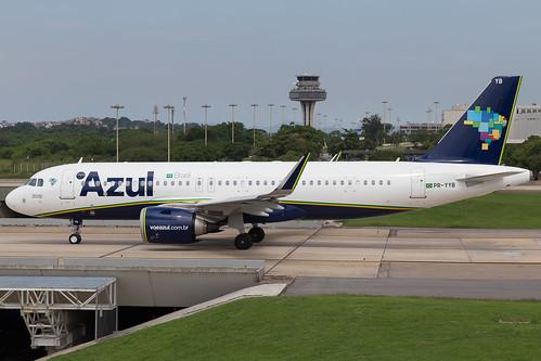 AIRBUS A320NEO PR-YYB AZUL LINHAS AÉREAS
