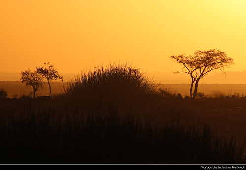 Sunset, Near Uis, Namibia