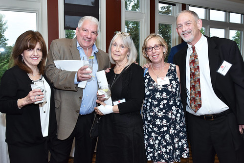 Jamie Greenwald & Dan Kaplan & Hillery Kraus & Susan & Elliott Becker - Turning Point 2019 Benefit - photo by Genie Lemieux Jordan