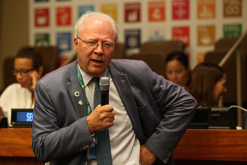 David Donoghue, co-facilitator of the intergovernmental negotiations on the 2030 Agenda and Distinguished Fellow, Overseas Development Institute (ODI)