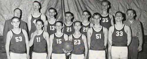 1958-1959 JV Boys Basketball
