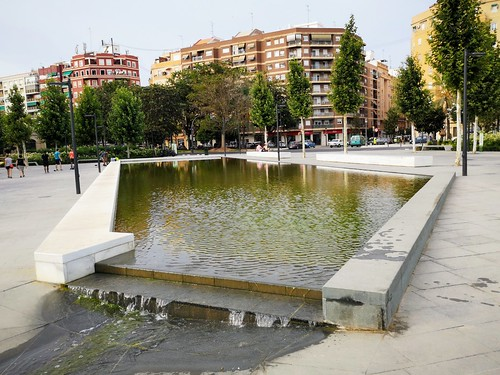 Parque Central de Valencia, diseñado por la paisajista Kathryn Gustafson