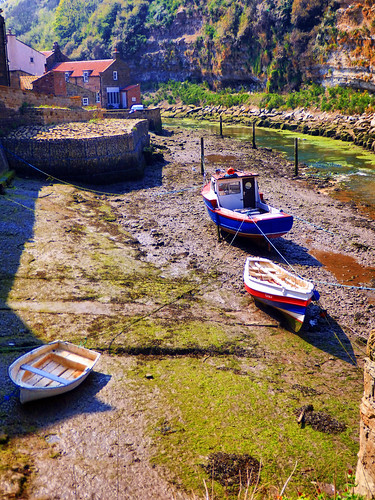 Staithes, Seaside Village, North Yorkshire, UK