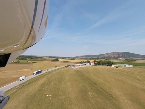 Taking off @ Spitzerberg aerodrome (LOAS)