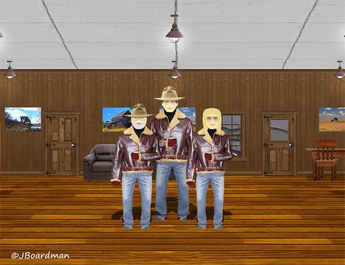 Boomer & Chris met with Big A ©Jack Boardman