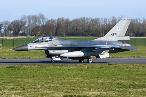 Royal Netherlands Air Force F-16AM J-871