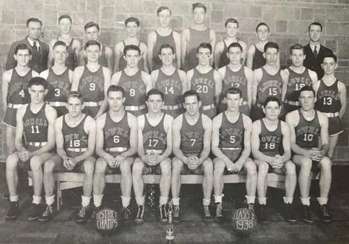 1937-1938 Varsity Boys Basketball