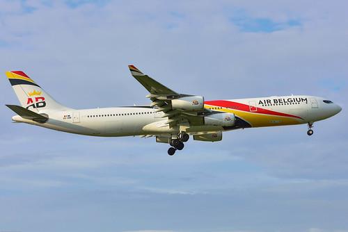 Airbus A340-300-OO-ABB-Air Belgium