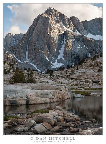 Peak and Lake, Afternoon