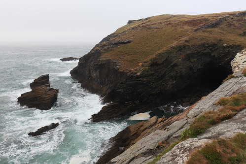 England / Cornwall - Coastline opposite Tintagel Castle