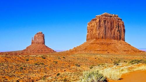 Monument Valley, Navajo Nation Reservation, Arizona.