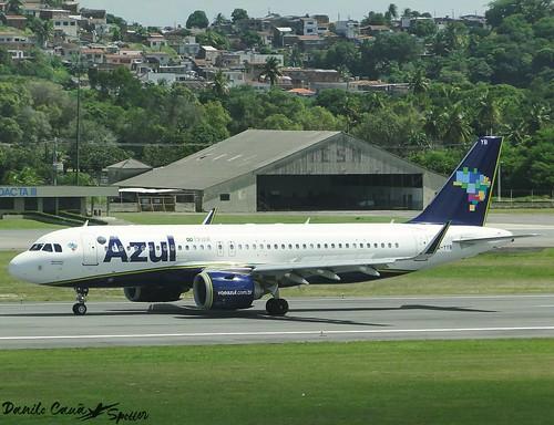 PR-YYB / Airbus A320N / Azul Linhas Aéreas / SBRF Airport