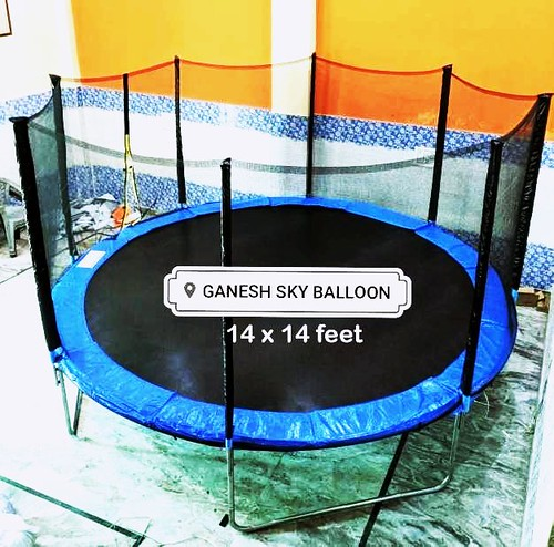 14 Feet Trampoline price  14 feet Trampoline price in Delhi. Ganesh Sky Balloon is supplying excercise Trampoline. We also supply mini kids Jumping Trampoline. Trampoline is also searched by Jumping Trampoline, Mini Trampoline, Trampoline Jumping Jhula, T
