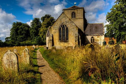 Saint Botolfs Church Bossall
