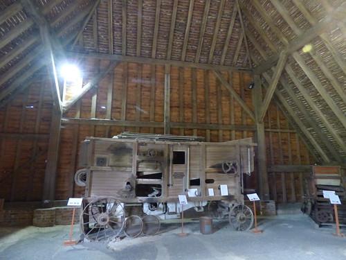 The Grange Barn, Coggeshall - Threshing Machine