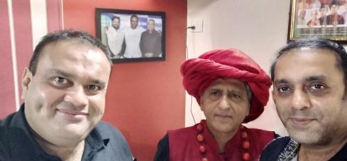 My friend Khalid bhai Quraishi