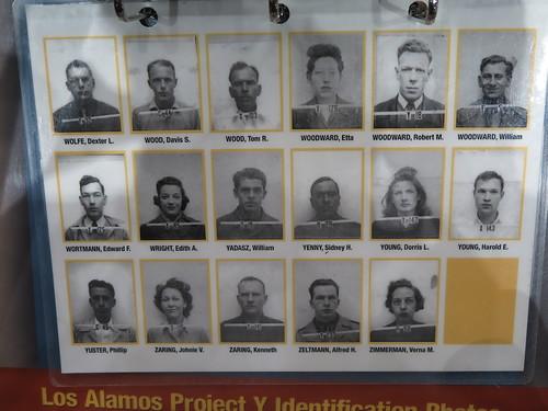 Los Alamos Project Y Identification Photos (Wolfe-Zimmerman)