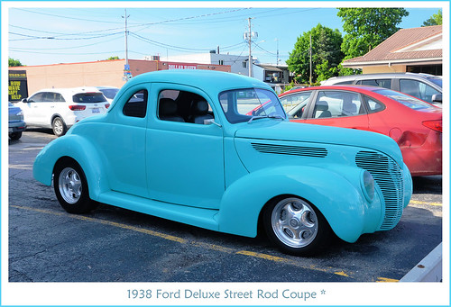 1938 Ford Deluxe Street Rod Coupe
