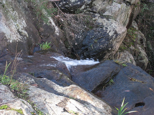 The Stanley Falls fed by the Turitable Creek; Stanley Park Mount Macedon