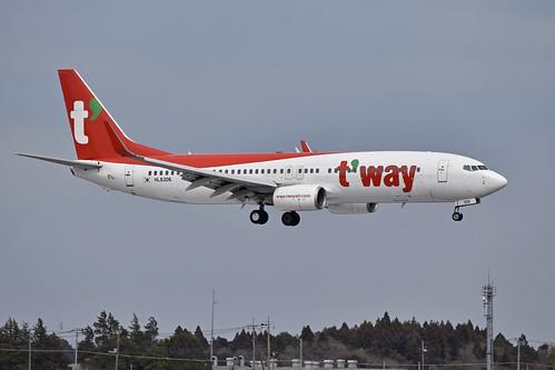 Boeing 737-86N 'HL8306' T'Way Air