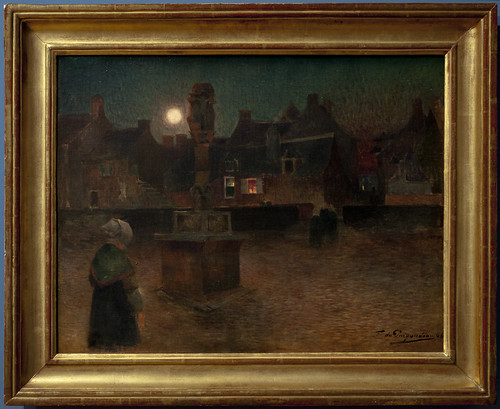 PUIGAUDEAU Ferdinand Loyen du 1896 L'office du soir