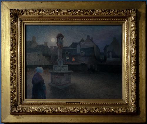 PUIGAUDEAU Ferdinand Loyen du 1894-95 L'office du soir