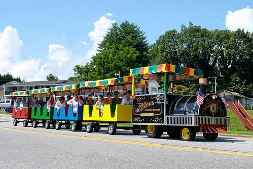 Bald Mountain Camping Resort Railroad - Hiawassee, Georgia