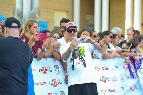 Jake La Furia e Don Joe al photocall del Giffoni 2019