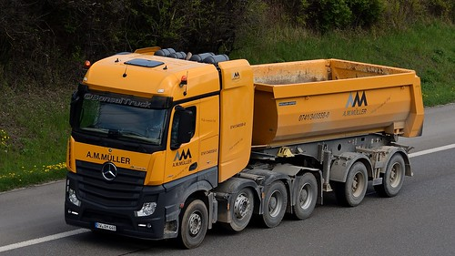 D - A.M. Müller MB new Actros 4155 Bigspace