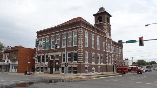 Oskaloosa City Hall and Fire Station, Oskaloosa, IA