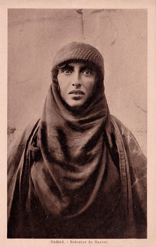 Damas - Bédouine du Hauran c 1925