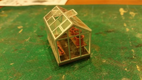Greenhouse from Busch kit