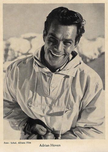 Adrian Hoven in Karneval in Weiß (1952)